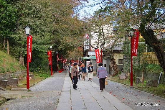 下総中山は法華経寺の門前町