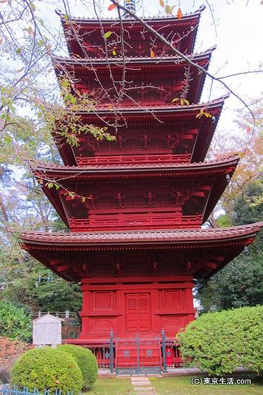 法華経寺五重塔