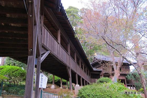 法華経寺の渡り廊下