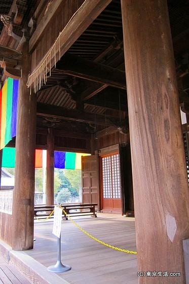 法華経寺祖師堂の建築