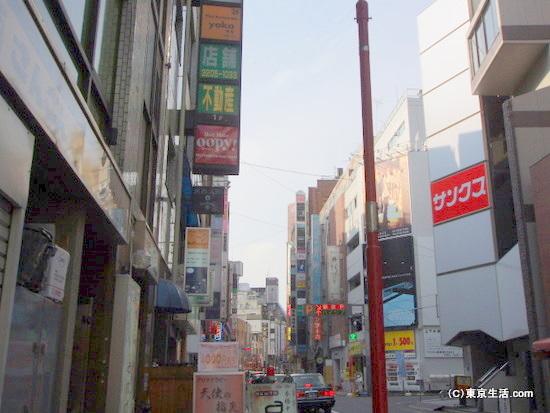 歌舞伎花道通り