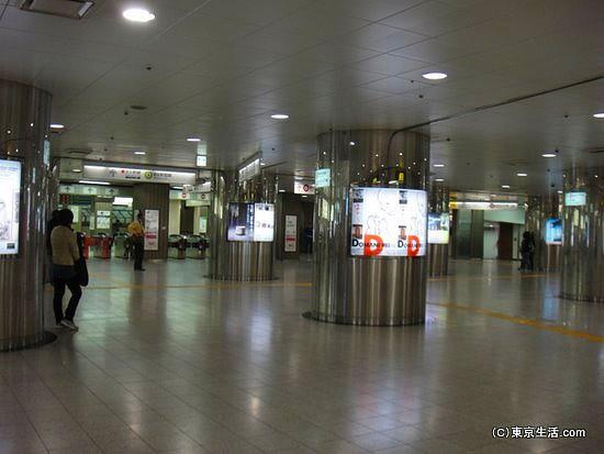 都営地下鉄の改札