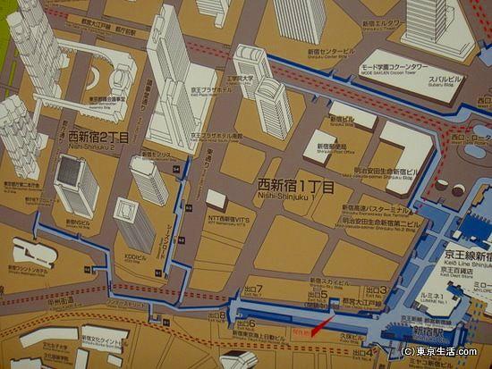 アメーバ状の新宿地下迷宮
