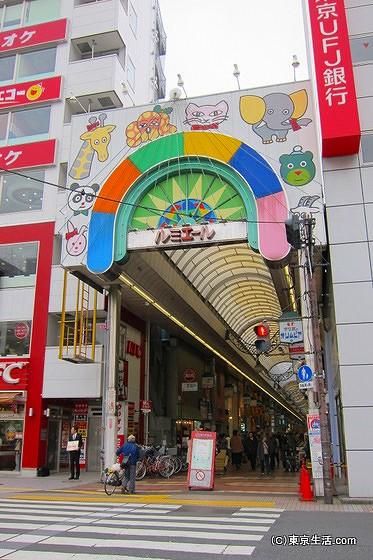 新小岩のルミエール商店街