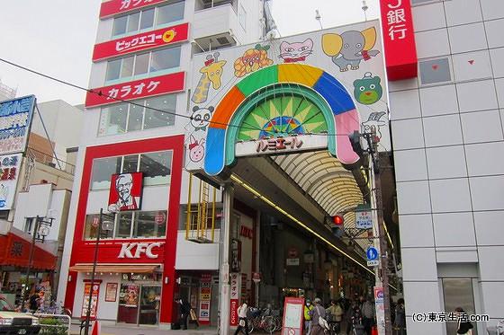 新小岩駅周辺|買い物に便利なルミエール商店街の画像