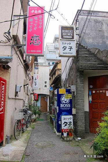 松島遊廓の路地