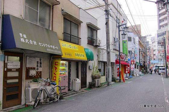 小松川の商店街