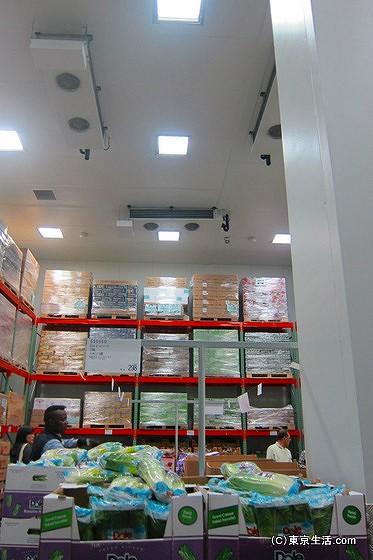 新三郷のコストコの冷蔵庫