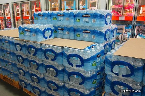 コストコで水を購入