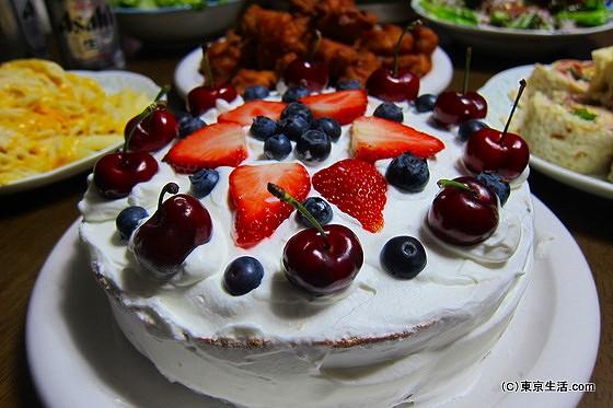 コストコパーティ ケーキ