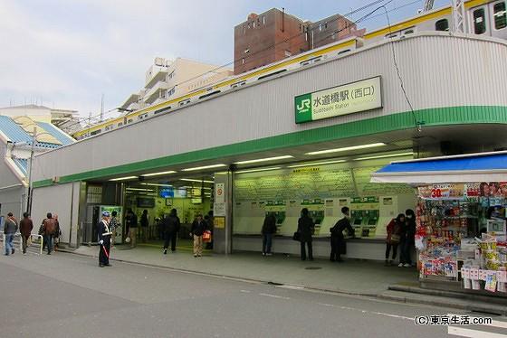 水道橋駅の西口