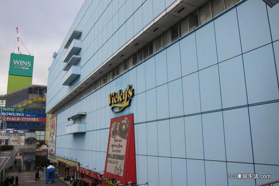 後楽園ホールのある青いビル