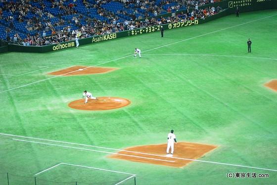 東京ドームのマウンド
