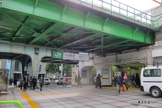 水道橋駅の東口