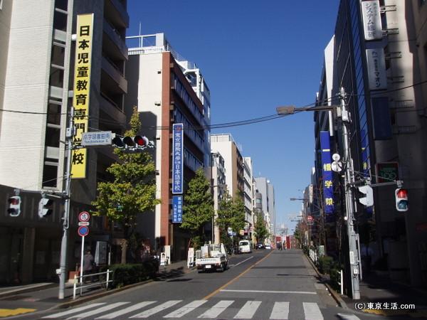 高田馬場:専門学校や予備校もたくさん