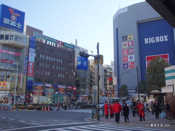 学生のための街並み|高田馬場の散歩