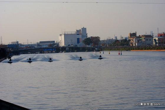 戸田競艇場のボートレース
