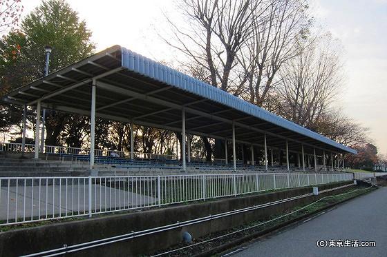 戸田漕艇場の観客席