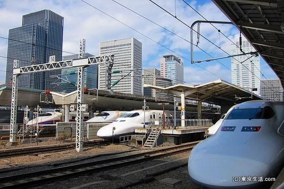 東京駅構内図ホーム