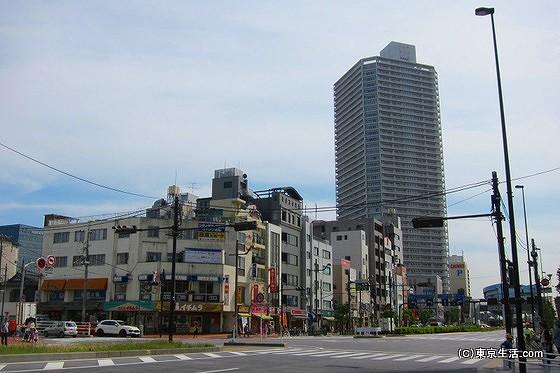 豊洲の住宅街