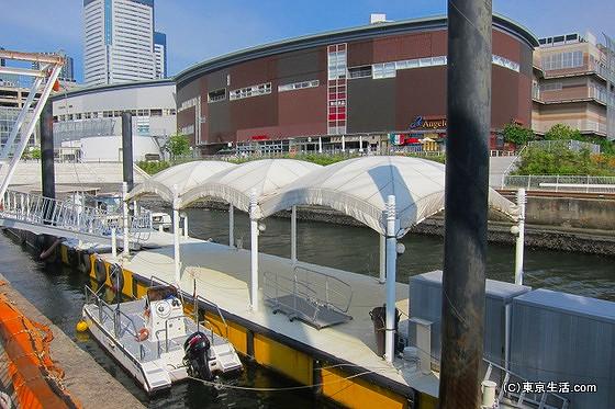 豊洲からの観光船