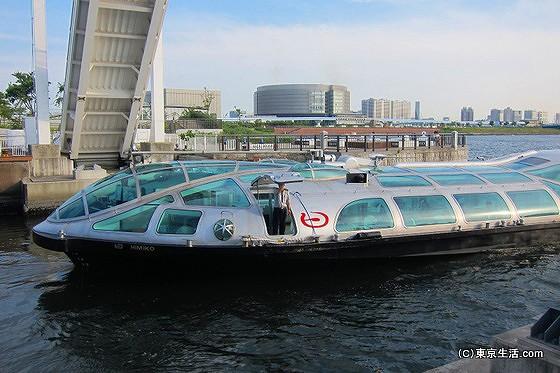 松本零士デザインの船