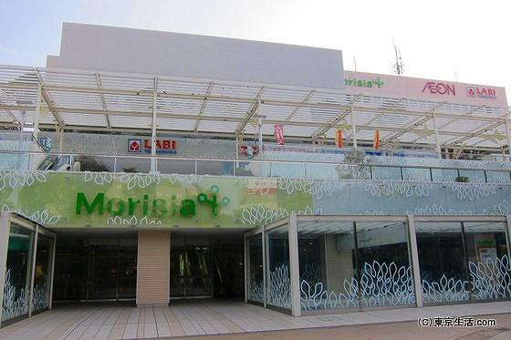 専門店が並ぶショッピングセンター