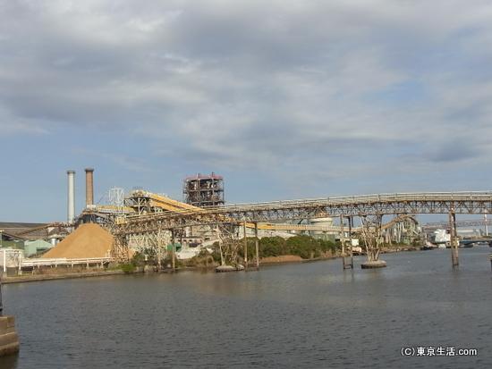 鶴見の工場