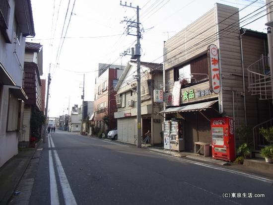 武蔵白石周辺の住宅街