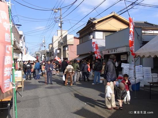生麦魚河岸祭りの風景