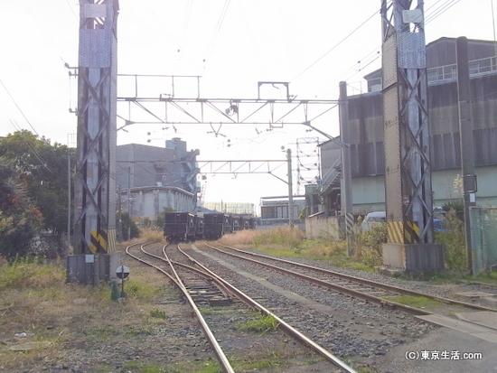 扇町駅の貨物線