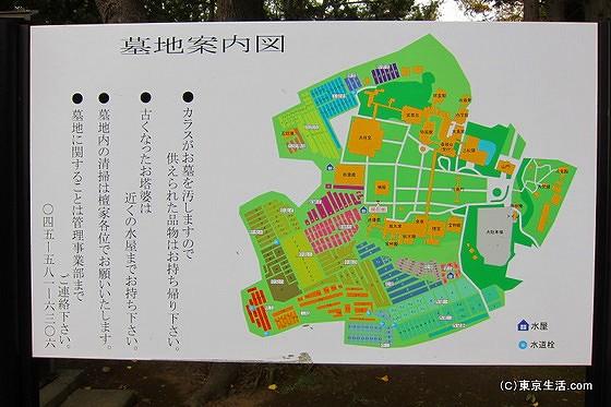 総持寺の墓地