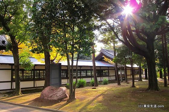 総持寺の長廊下
