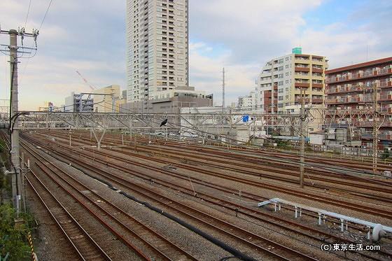 東海道線の線路