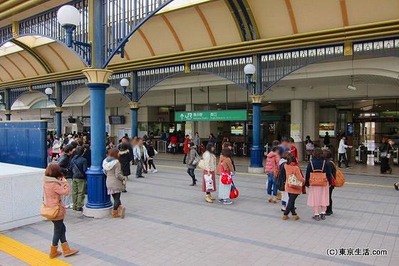 舞浜駅の現状
