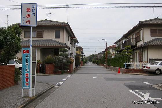 新浦安の住宅街