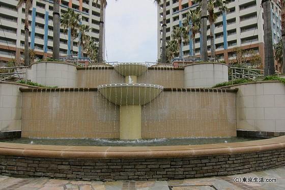 エアレジデンス新浦安の噴水