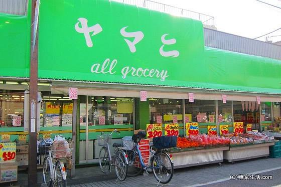 蕨のスーパーマーケット