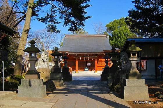 和楽備神社|蕨の名前の由来!?歴史を巡る散歩の画像