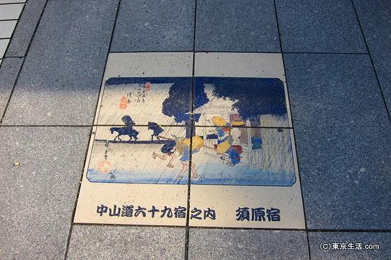 中山道の絵
