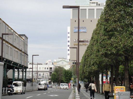 代々木駅からの新宿駅