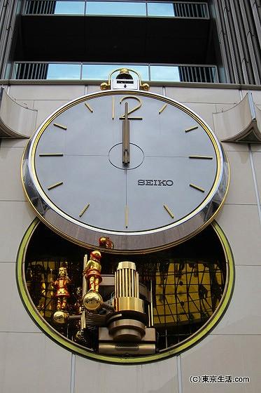 正午のからくり時計