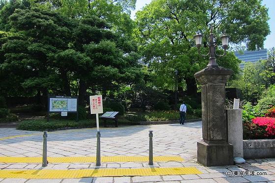 有楽町駅から日比谷公園へ