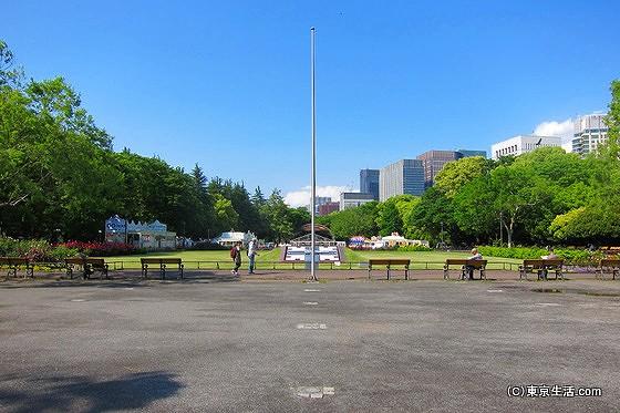 日比谷公園の噴水広場