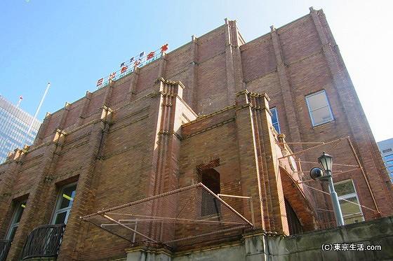 レンガ造りの日比谷公会堂