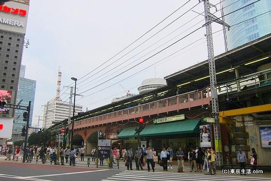有楽町駅の西口