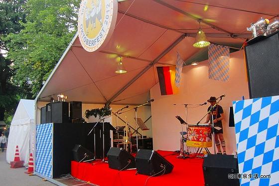 オクトーバフェストの舞台