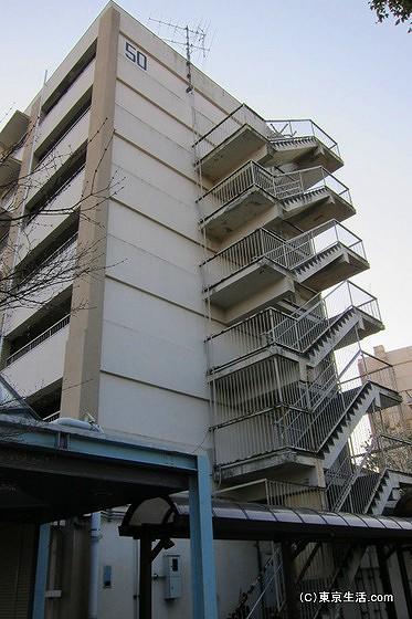 赤羽台団地の建物