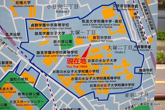 有名大学が多い/護国寺の住みやすさ