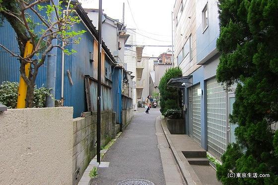音羽の密集型住宅街